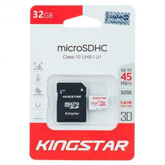 Kingstar UHS-I U1 Class 10 85MBps microSDHC With Adapter 32GB