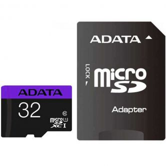 ADATA Premier UHS-I Class 10 80MBps microSDHC 32GB With Adapter